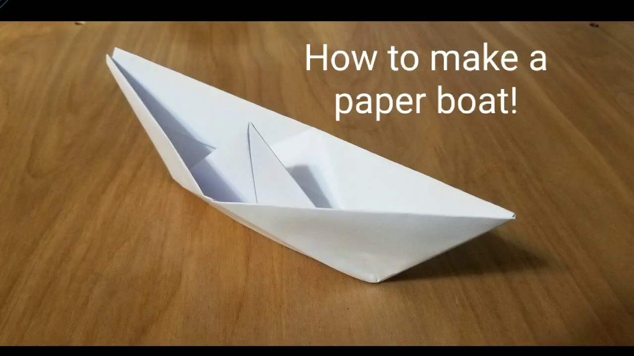 Jamson: Useful How to make a paper sailboat hat | 720x1280