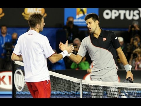 Stan Wawrinka VS Novak Djokovic Highlight 2014 AO QF