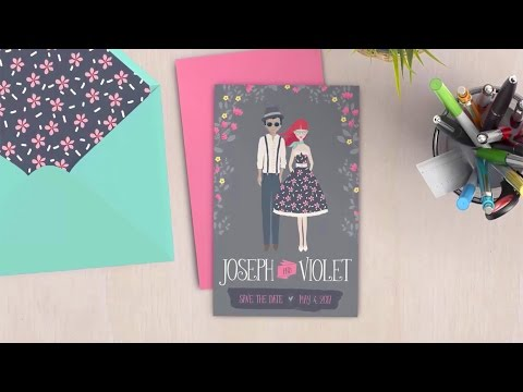How to Design a Whimsical Save-The-Date Card: Illustrator Tu