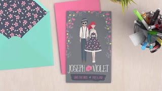 How to Design a Whimsical Save-The-Date Card: Illustrator Tutorial
