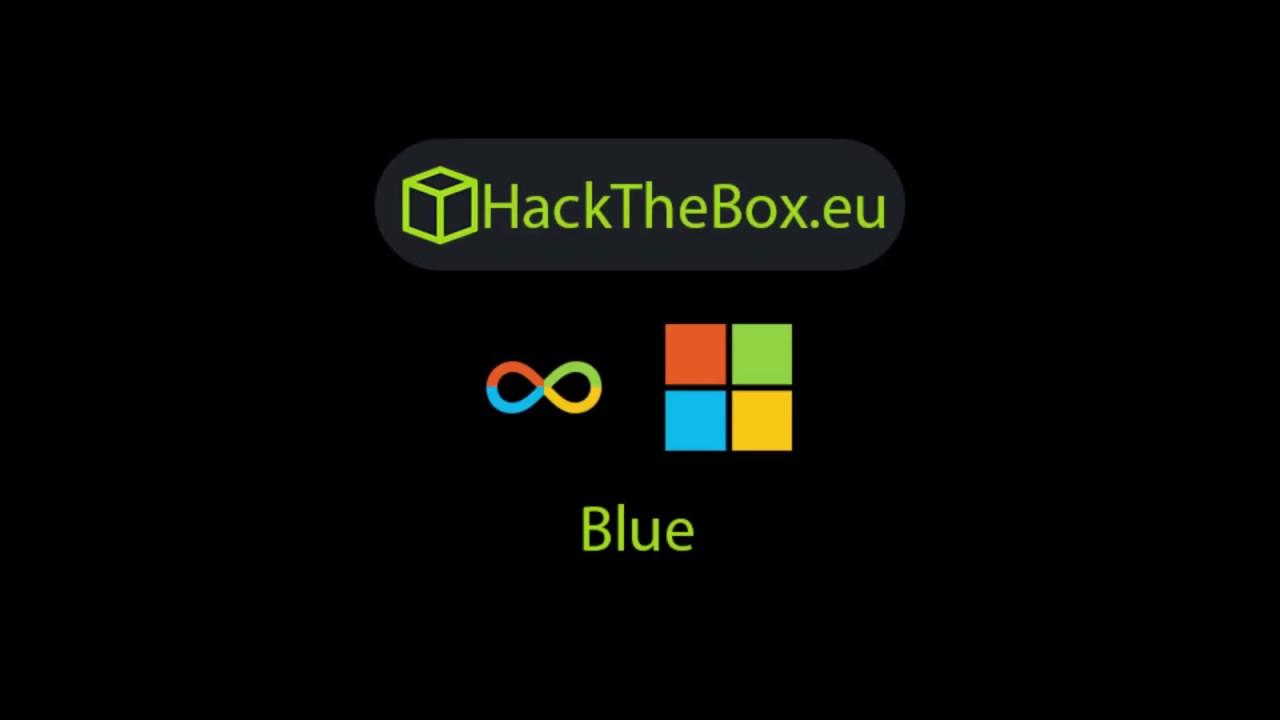 HackTheBox Blue Walkthrough   Solution   User + Root   htb