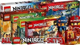 ALL 170+ LEGO NINJAGO SETS COLLECTION! HD 2011-2017