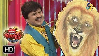 Rocket Raghava Performance | Jabardasth | 8th December 2016| ETV  Telugu