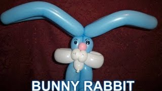 HOW TO MAKE A BUNNY RABBIT BALLOON - Balloon Animal