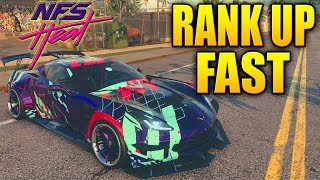 Need For Speed Heat Tips - HOW TO RANK UP SUPER FAST & EASY