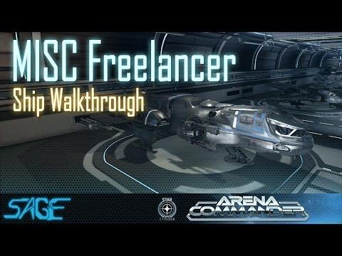 Star Citizen, MISC Freelancer Ship Walkthrough