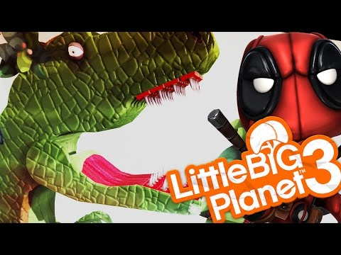 Little Big Planet 3 - DINOSAURS EVERYWHERE! (LittleBigPlanet 3)