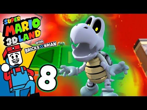 Lots Of Magma Everywhere!   -Super Mario 3D Land With Bricks 'O' Brian