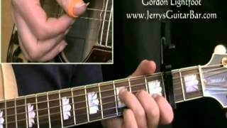 How To Play Gordon Lightfoot Beautiful (intro only)