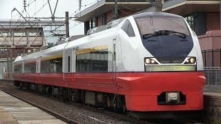 JR奥羽本線 浪岡駅 E751系(つがる)
