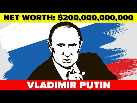 Is Vladimir Putin the Richest Man Alive?