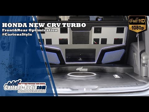 Audio Mobil HONDA NEW CRV TURBO PRESTIGE | Premium Sound With Front&Rear Optimizations