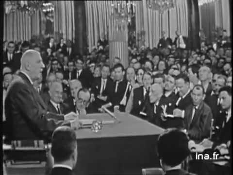 Conférence de presse GENERAL DE GAULLE 9 septembre 1965  - Archive vidéo INA