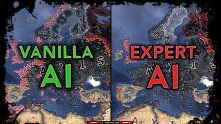 [HoI4] Double Timelapse - Vanilla AI vs Expert AI Mod