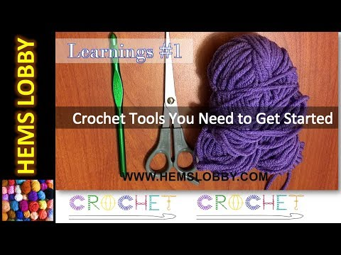 crochet-learning-#1---crochet-tools-you-need-to-get-started-(tamil/english)