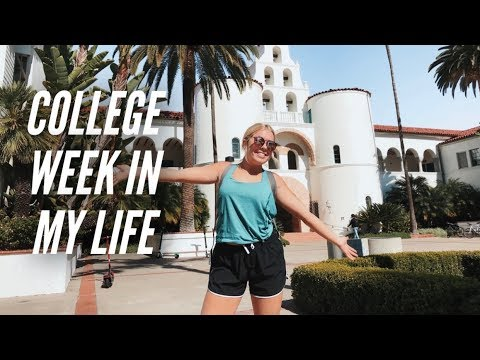 college week in my life: classes, beach, shopping & more