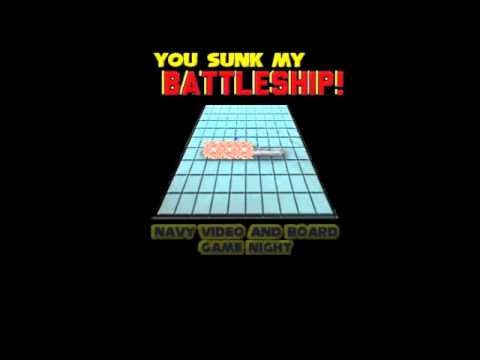 """""""You Sunk My Battleship:"""" Navy Video and Board Game Night Promo Video"""