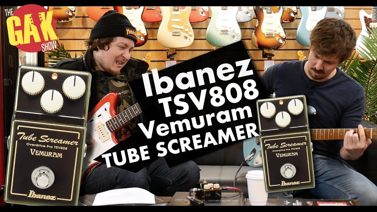 Ibanez TSV808 Tube Screamer Vemuram LTD Overdrive Pedal