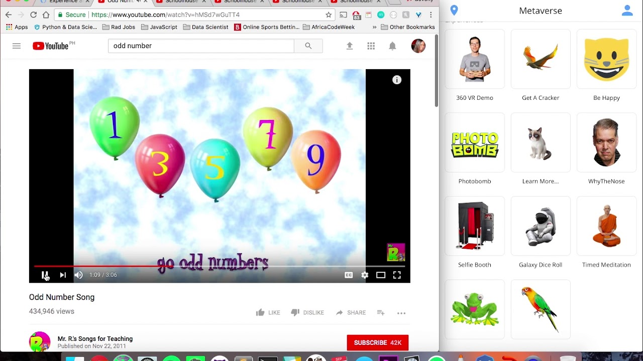 Metaverse in the Classroom - Elementary Math Part 1 - YouTube