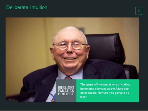 Building Intelligent Fanatic Intuition