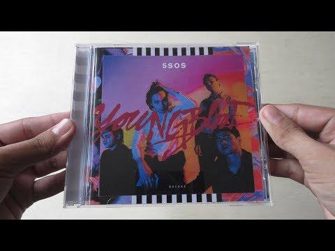 5 Seconds Of Summer - Youngblood ( Album Deluxe Edition ) - Unboxing CD En Español
