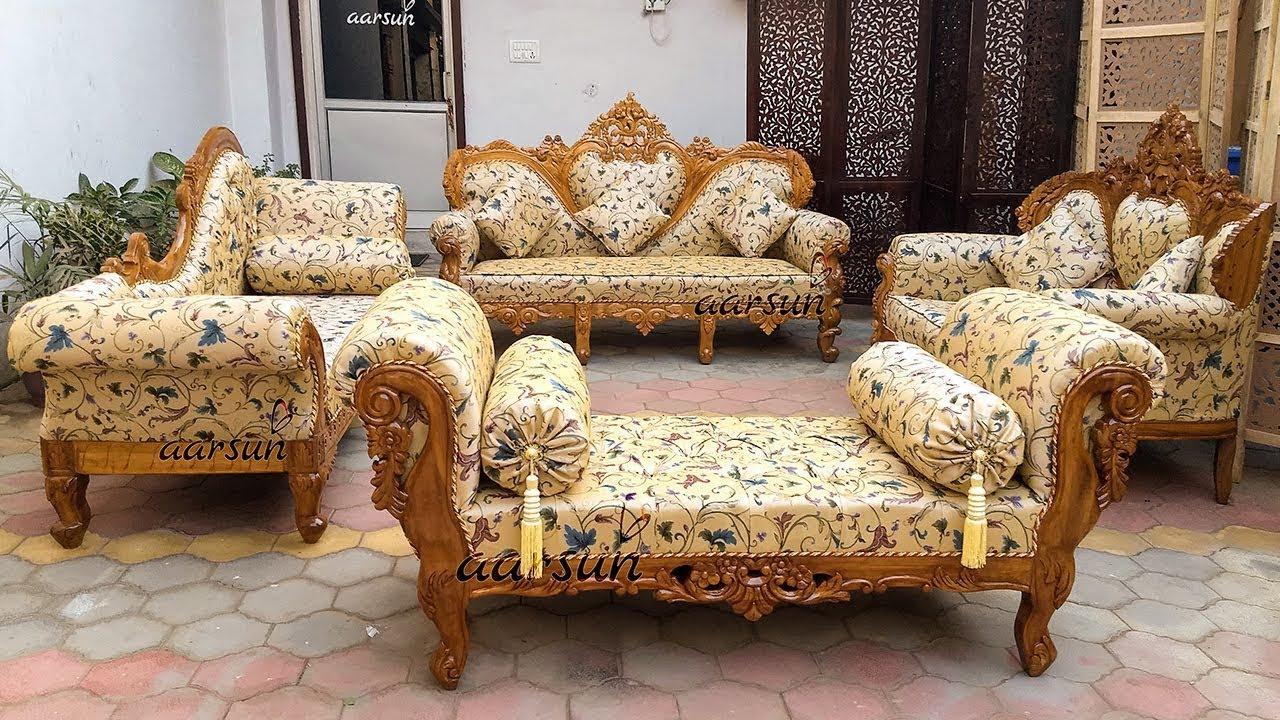 divan sofa set designs in pakistan & india - wooden diwan ...