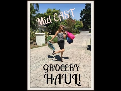 You Asked For It! - Mid East Market Grocery Haul! السوق العربية