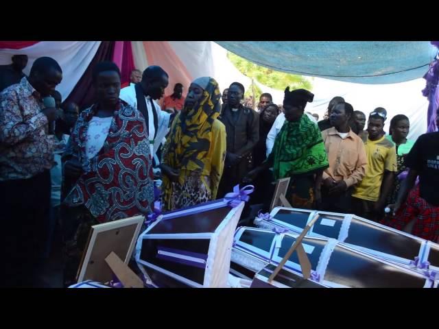 Mazishi ya watu watano kati ya saba waliokatwa mapanga Sengerema Mwanza