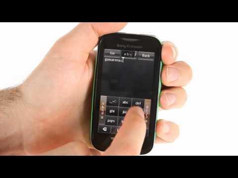 Sony Ericsson Mix Walkman user interface demo