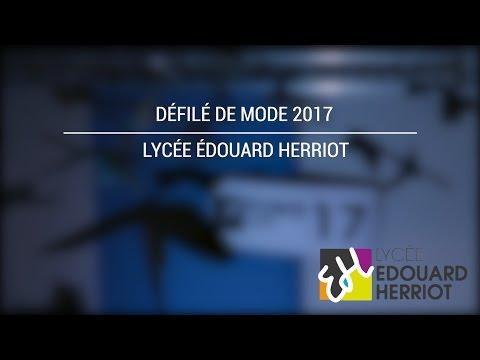 Défilé de mode 2017 - Edouard Herriot