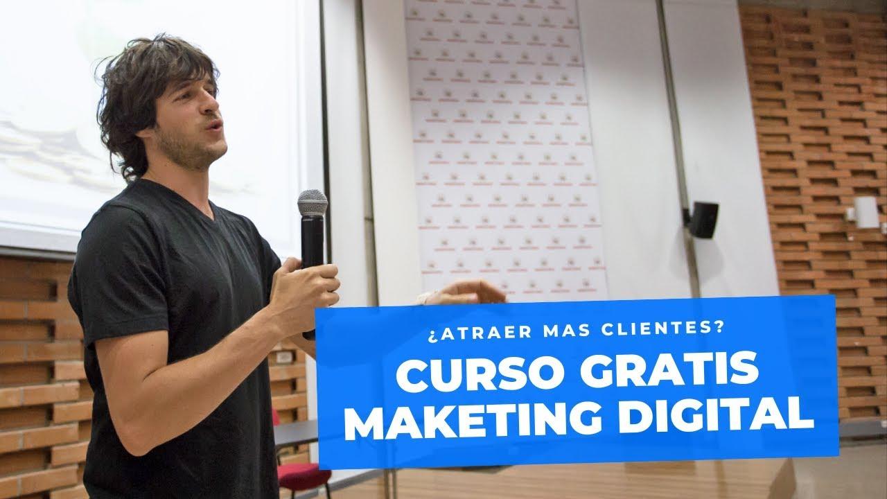 CURSO MARKETING DIGITAL GRATIS #1 - ¿Como Atraer mas Clientes?