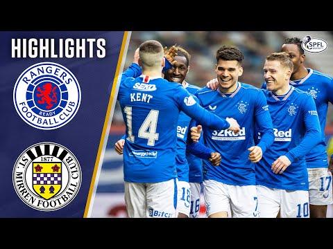 Rangers St Mirren Goals And Highlights