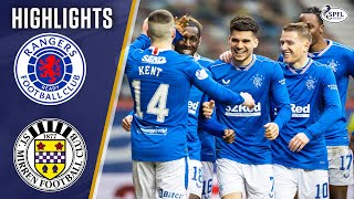 Rangers 3-0 St Mirren | Rangers Secure Premiership Title! | Scottish Premiership