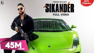 Sikander : Karan Aujla (Title Track) Guri | Kartar Cheema | Sikander 2 Releasing On 2nd August