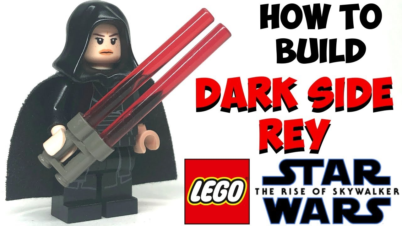 How To Build Lego Dark Side Rey From Star Wars Rise Of The Skywalker Youtube
