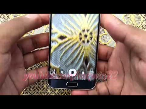 How to set High Definition video camera (1280x720) on Samsung Galaxy S6 or S6 Edge