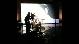 On set with Cartoon Network for Generator Rex