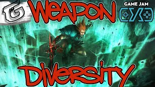Weapon type Diversity - Game Jam (Oct 2018)