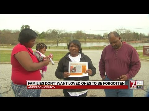 Families, activist group ask Anderson Co. Sheriff for help