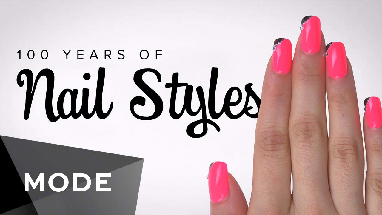 100 years of fashion nails