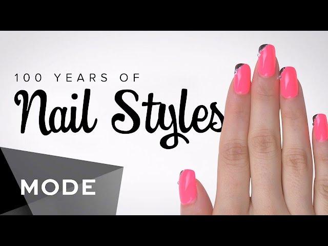 En dos minutos: los estilos de manicura de los últimos 100 años