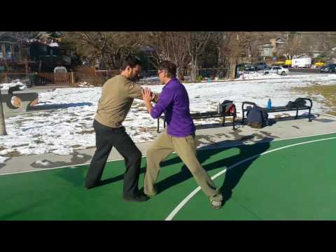 Building shapes in martial arts
