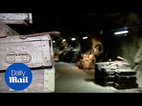 Poland confirms existence of underground Nazi gold train - Daily Mail