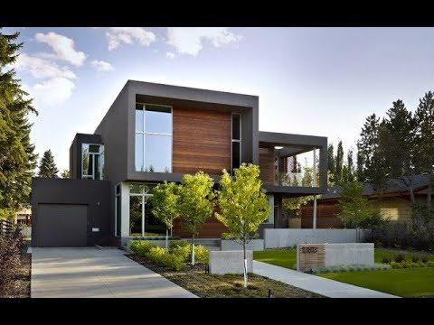 Exterior Modern Home Color Design Ideas