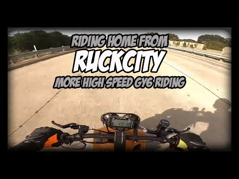 Riding home from RuckCity