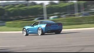 corvette zr1 active exhaust acceleration