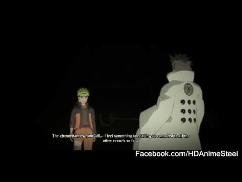 Naruto and Sasuke Talk Hagoromo - English Dub - NUNS 4