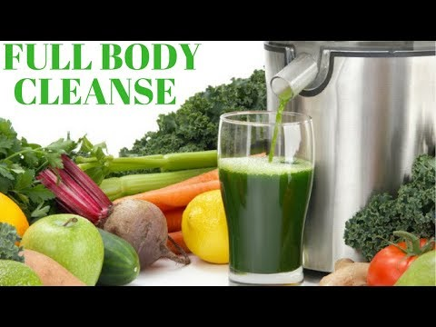Full Body Cleanse Through Detoxification