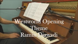 "Westworld - ""Main Title Theme"" (Piano Cover & Sheet)"