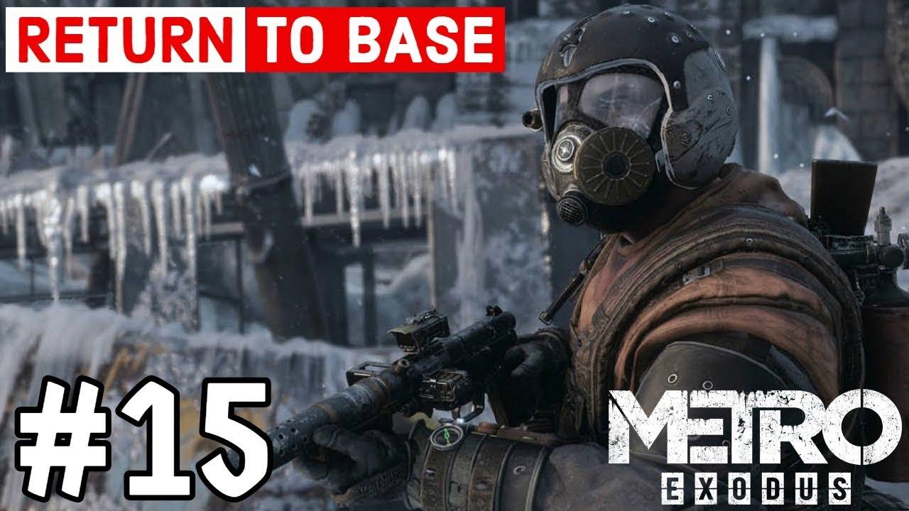 Metro Exodus Walkthrough Gameplay Part 16 Free Slaves Youtube